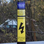 Cable Route Marker Posts