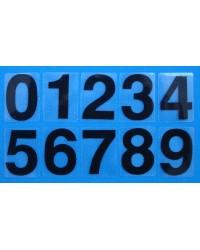 Numerals Black 0-9 (self-adhesive)
