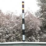 Snow Poles (hazard avoidance in severe weather)